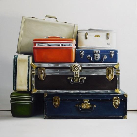 vintage luggage <3.