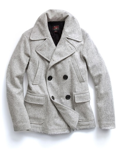 tetinotete :       Woolrich Woolen Mills Double-Breasted Peacoat      WANT.