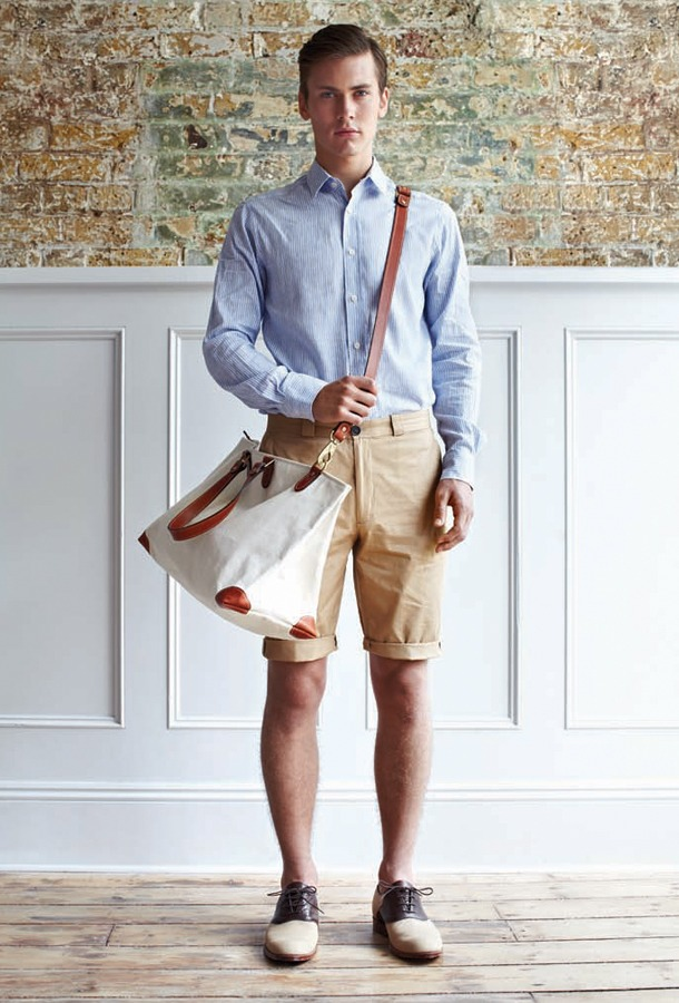 neoretro :     D.S. Dundee SS 2012     love this look.