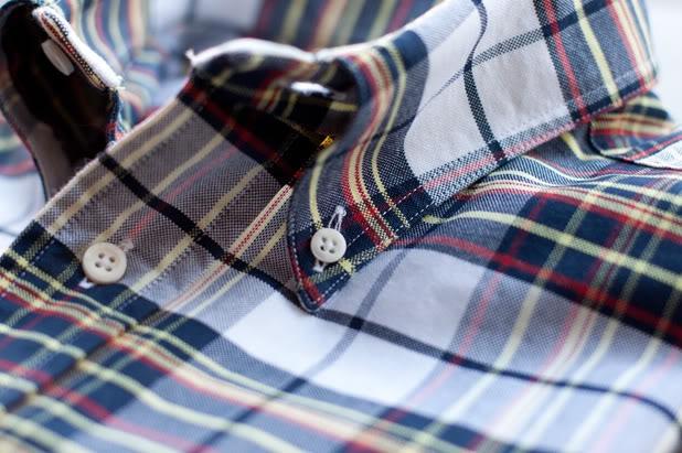 collar button down.