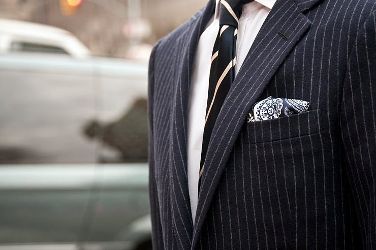 beautifully done. this pocket square is amazing.