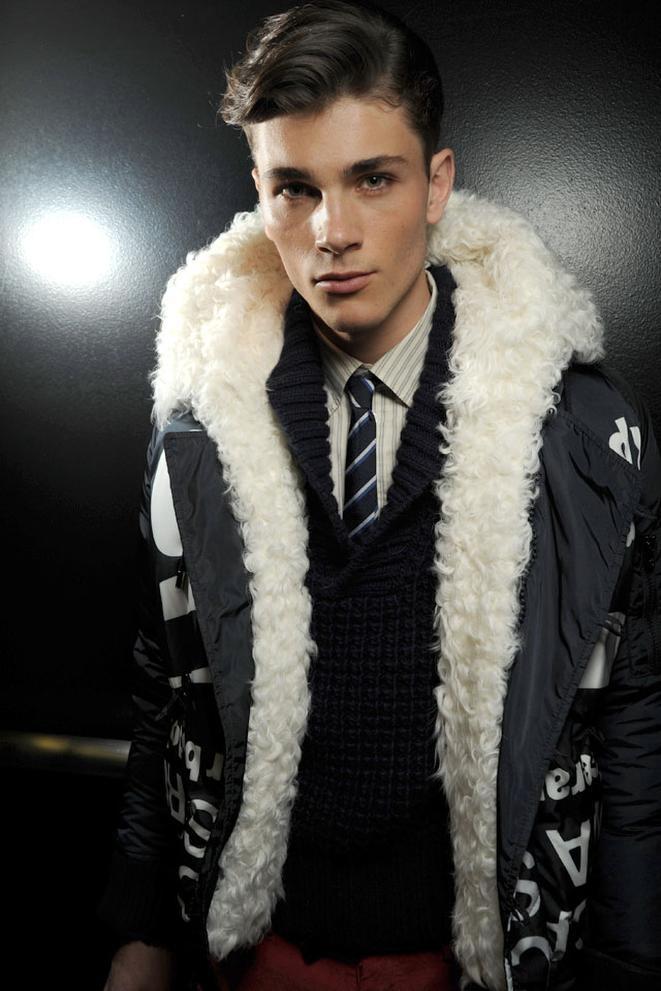 interesting coat.