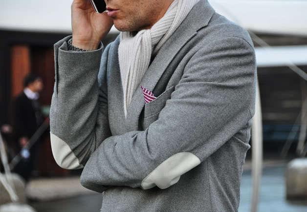awesome jacket + scarf.