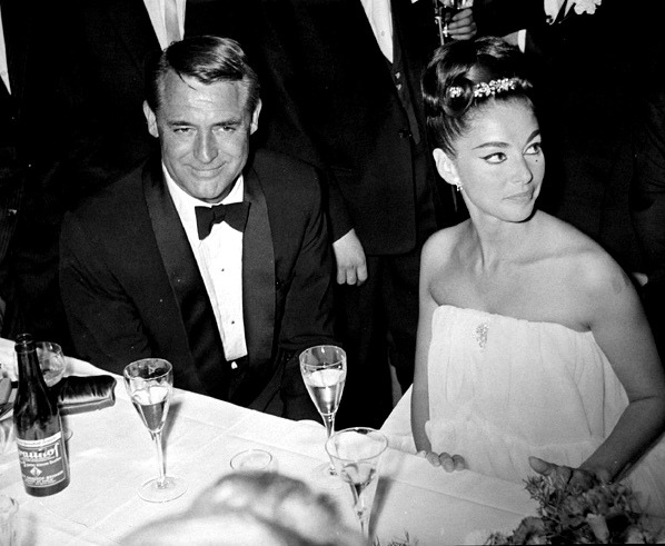 signorinapierangeli :     Pier Angeli and Cary Grant at the BAFTA awards…