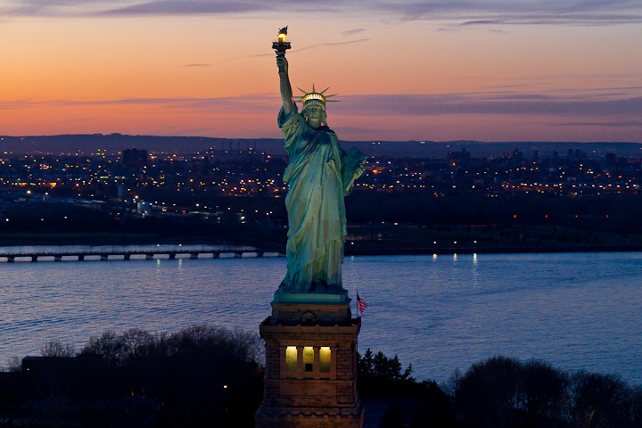 theabsolution :     Statue of Liberty, NYC     I WILL BE HERE SOON.
