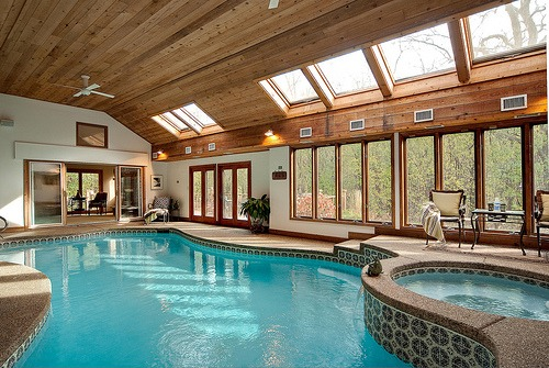 ive always dreamed about an indoor pool.