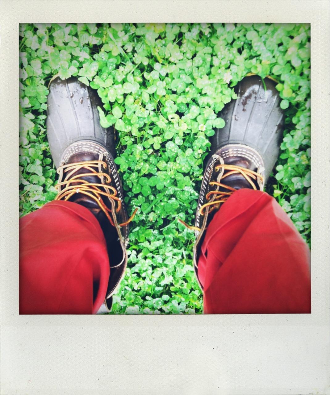 llbeanpr :     Cooper's Bean Boots     great boots!