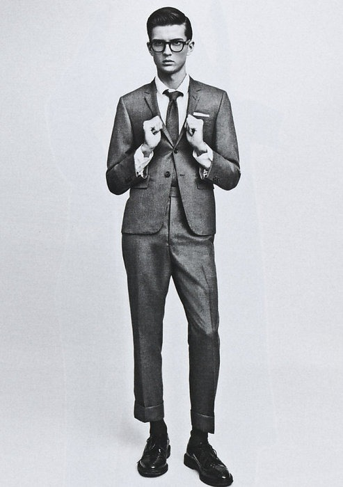 everything about this is   incredible  . love the thom browne feel to it!