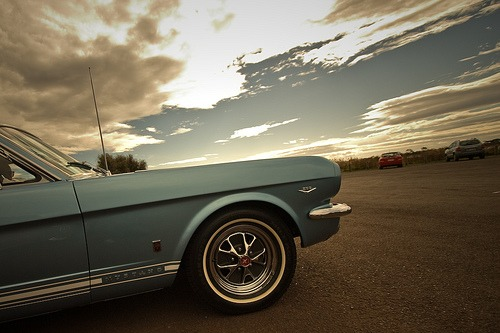 carpr0n: Teenage dream Starring: Ford Mustang (by evvvvan)