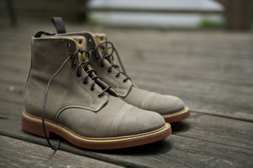 New addition - Mark McNairy Suede Cap Toe Patton Boot