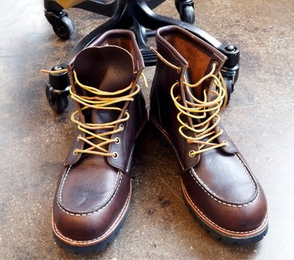 anchordivision :      Land's End Canvas - Men's Leather Workboots      WAANNNTT.