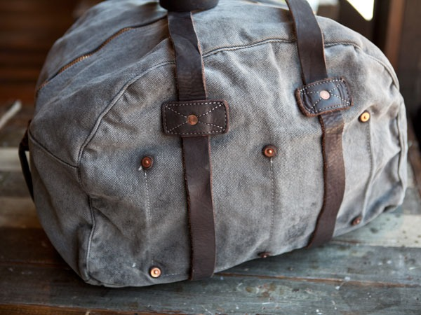 anchordivision :      Billy Reid - Canvas Duffel      WAANNNTT.