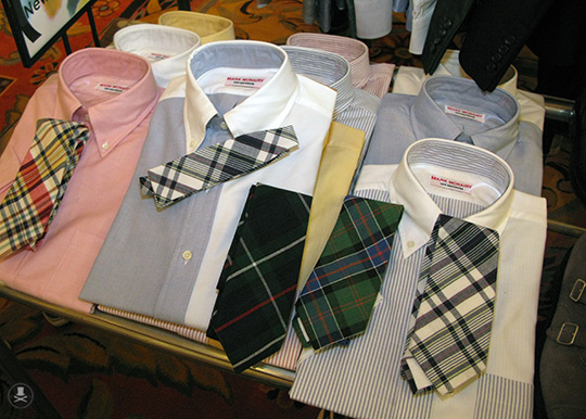 great shirts + ties.