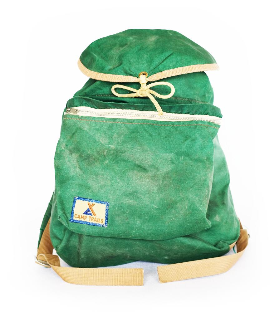 menandwomenofindustry :     Camp Trails backpack, oldie but goodie     sick.