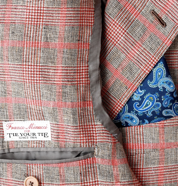 thestylebuff :     Franco Minucci for Tie Yout Tie