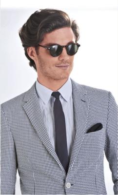 summer suit.