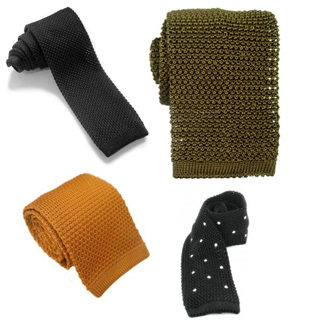 knitted ties =  <3.