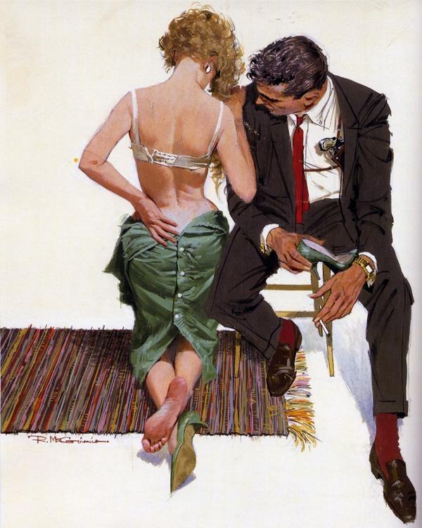 thecolony :     Bond by Robert McGinnis