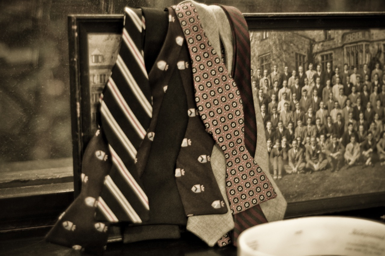 bow tie with shields? legit…