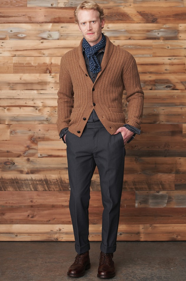 nickelcobalt :     grandpa steez (via  J.Crew Fall/Winter 2011 New York City Presentation | ONEEIGHTNINE )     J.Crew is too amazing.