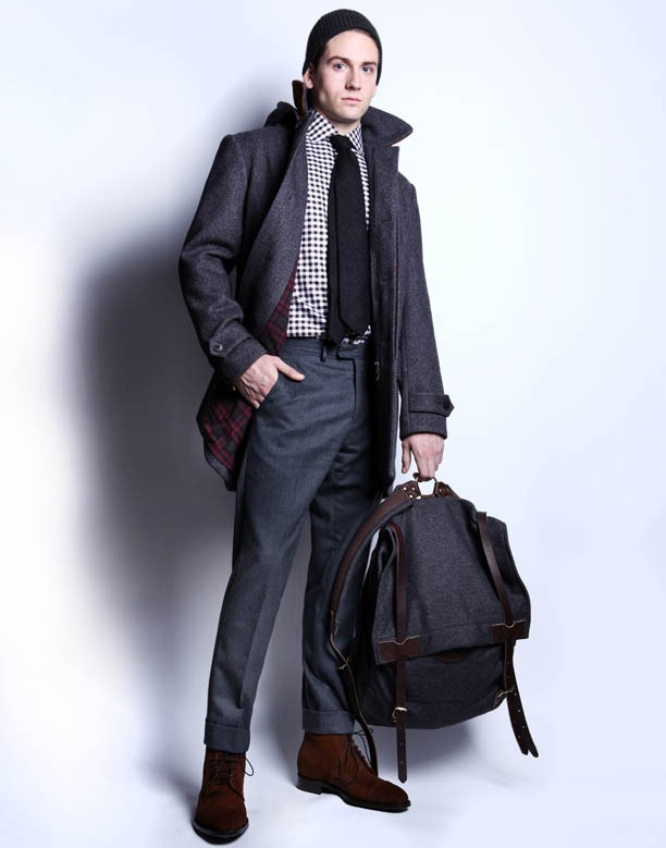 ovadiaandsons: And to close off the day - Last but not least  Ovadia & Sons A/W 11' Collection on GQ.COM  http://www.gq.com/fashion-shows/brief/F2011MEN-OVADIAMEN  WANT.