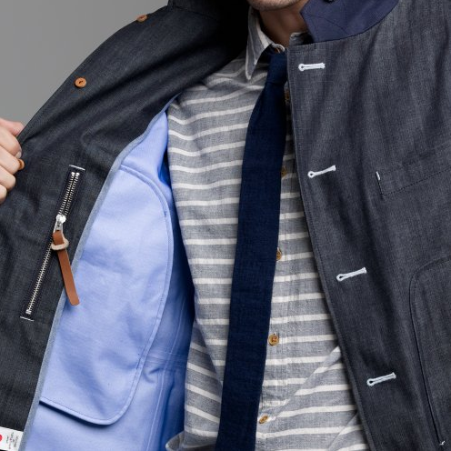 thestylebuff :     Nanamica Gor-Tex Field Jacket,a rain coat option     need.