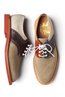 thestylebuff :     Mark McNairy Crazy Mix Saddle Derby Shoe      NEED/WANT.
