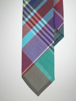 Ralph Lauren Madras Plaid Tie.