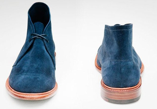 manofstyle :     Lodger Footwear Leather Sole Desert Boot