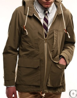 anchordivision :     Rocking this, this spring. Band of Outsiders  Cotton Anarak Parka      holy shit this is dope. so much want!