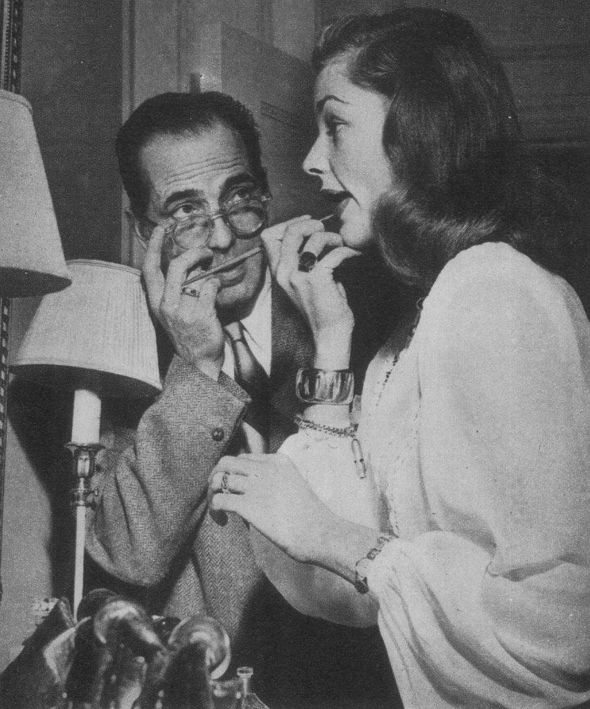 lucynic83: Lauren Bacall & Humphrey Bogart