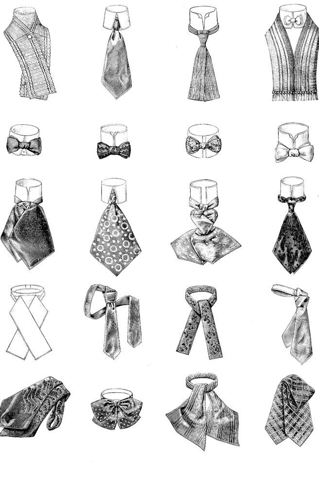 todaystie: Neckwear 1912 (via Style Forum)