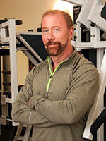 Fredrick Hahn, Owner and Founder of Slow Burn Personal Training Studios.