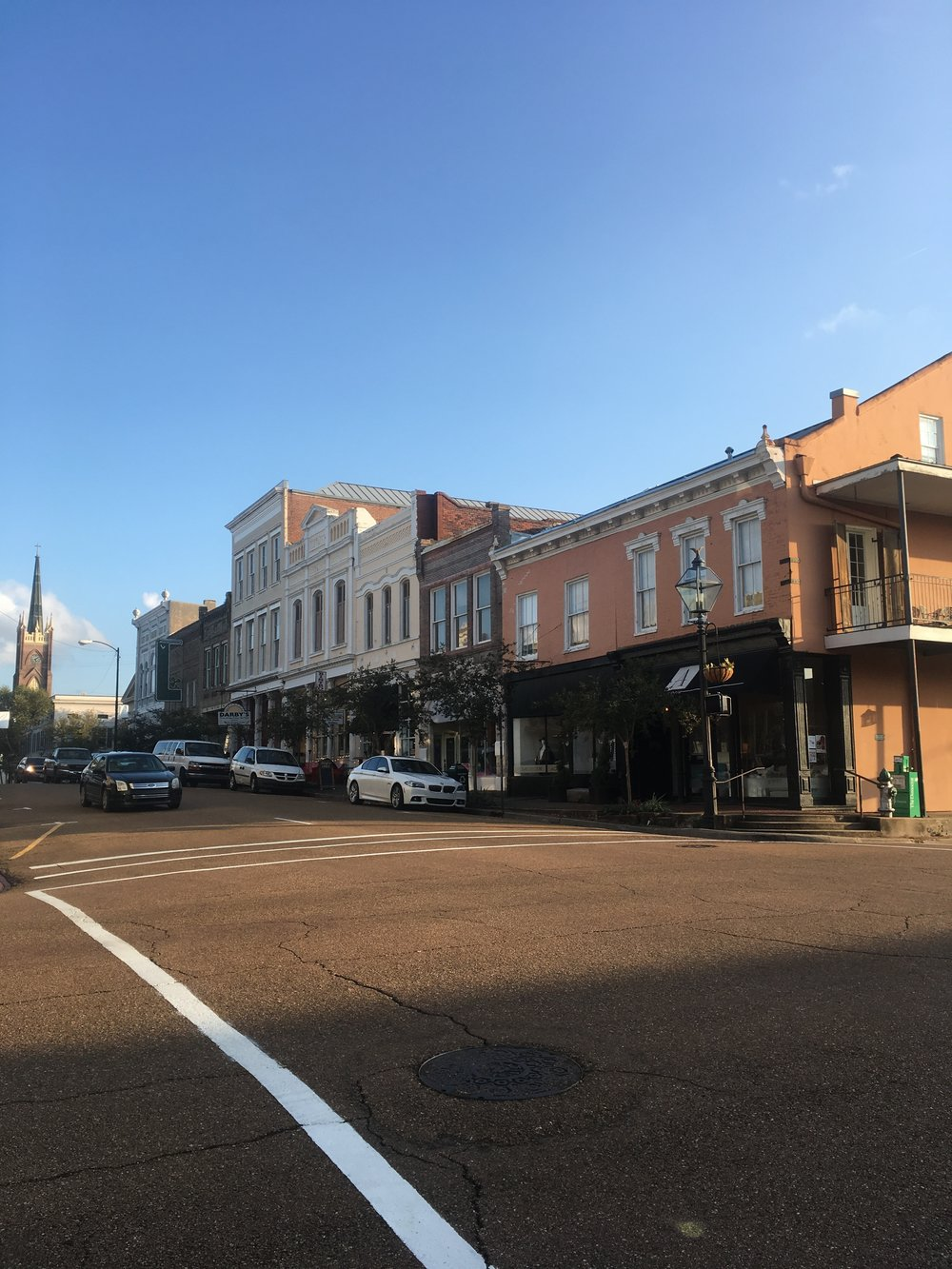 Downtown Natchez, Misssissippi
