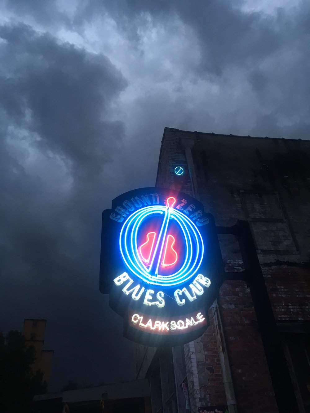 Ground Zero Blues Club in Clarksdale, Mississippi