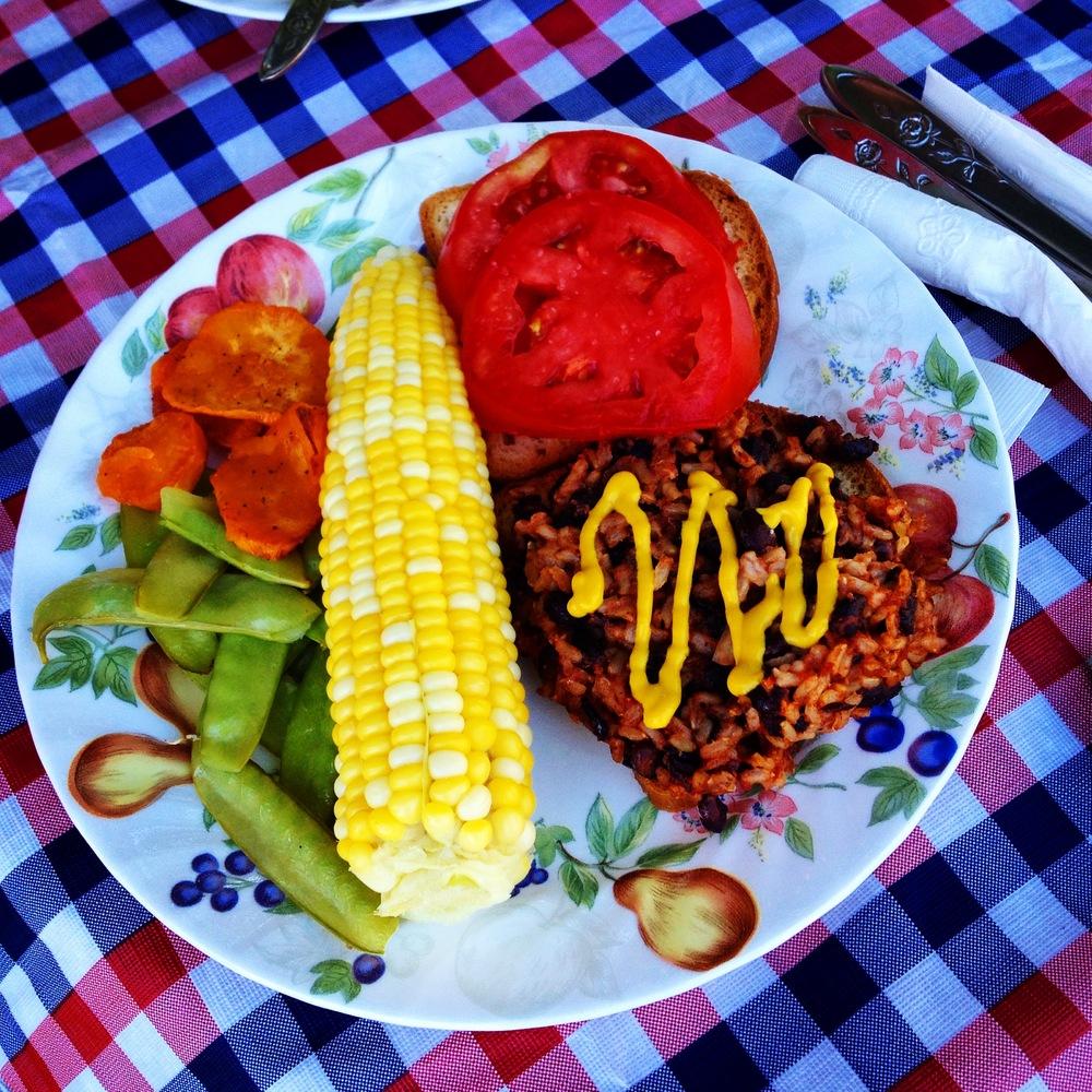 A TASTEY FOURTH OF JULY  PLANT-BASED BBQ