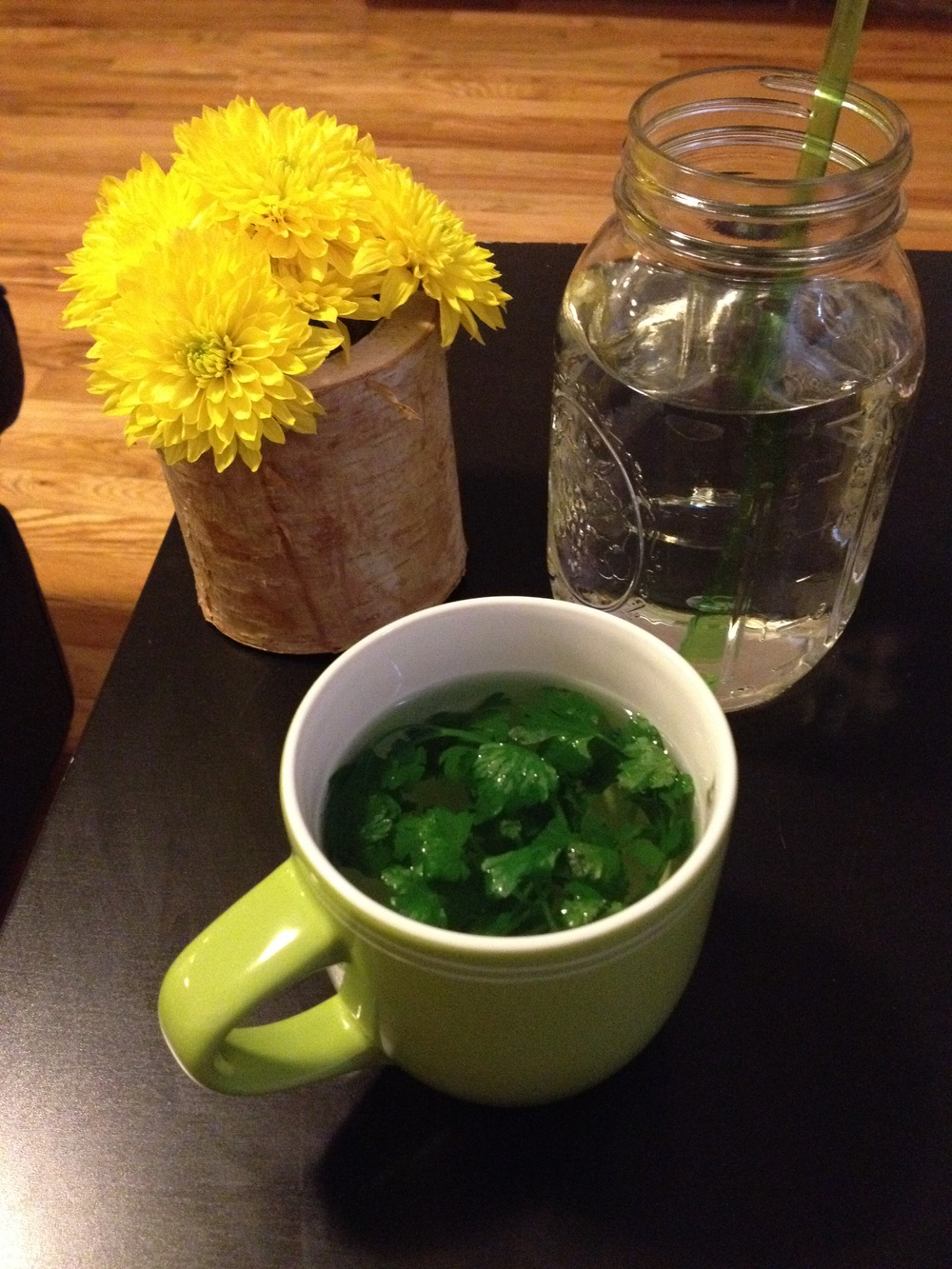 #29 Ginger or Parsley Tea