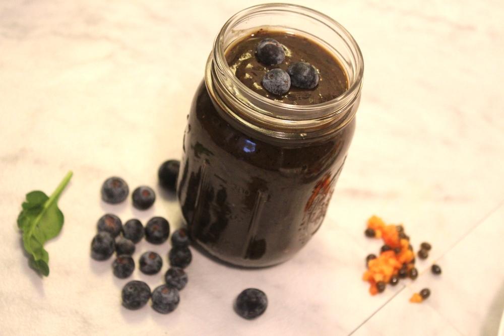 Balancing Blueberry Smoothie