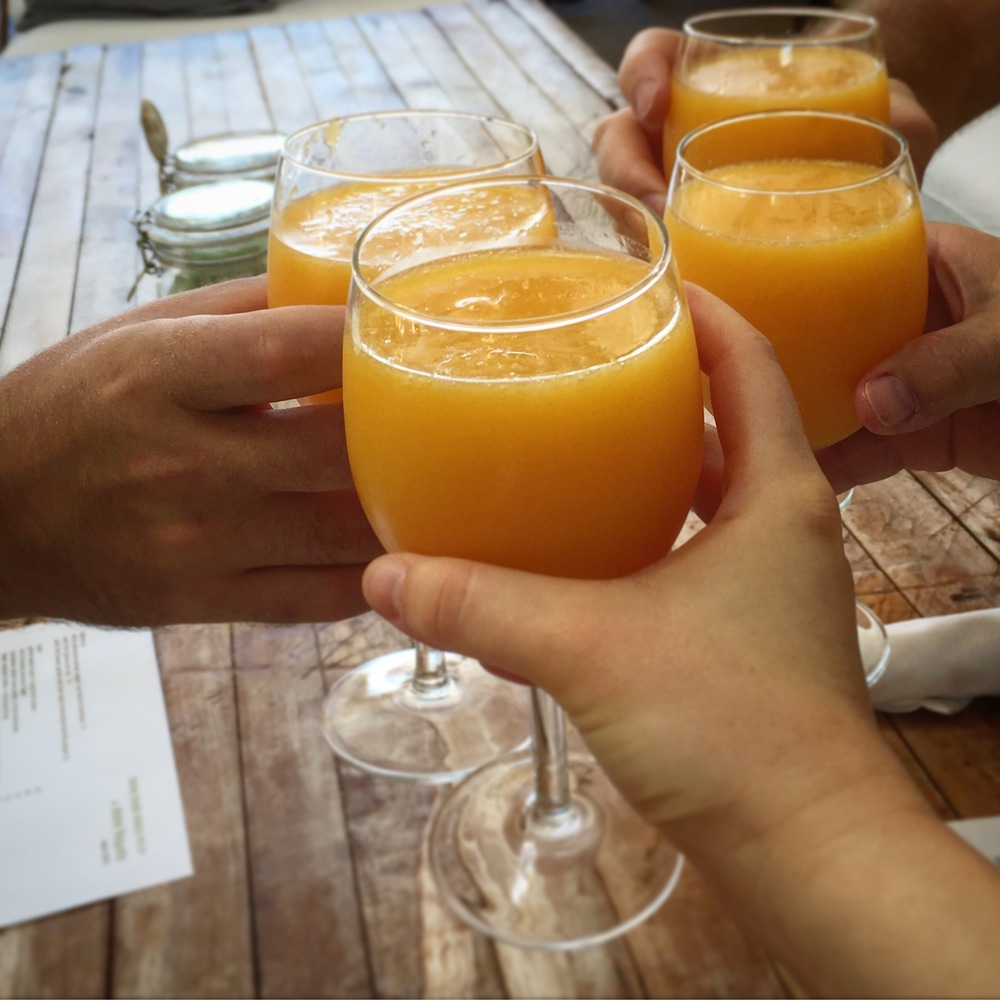 Cheers! It's easy to dine with your vegan friends.