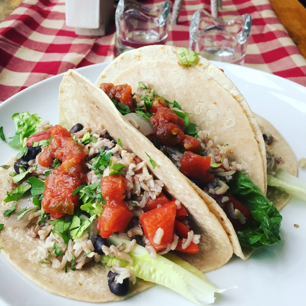 Tempeh tacos // Photo by scott wittrock