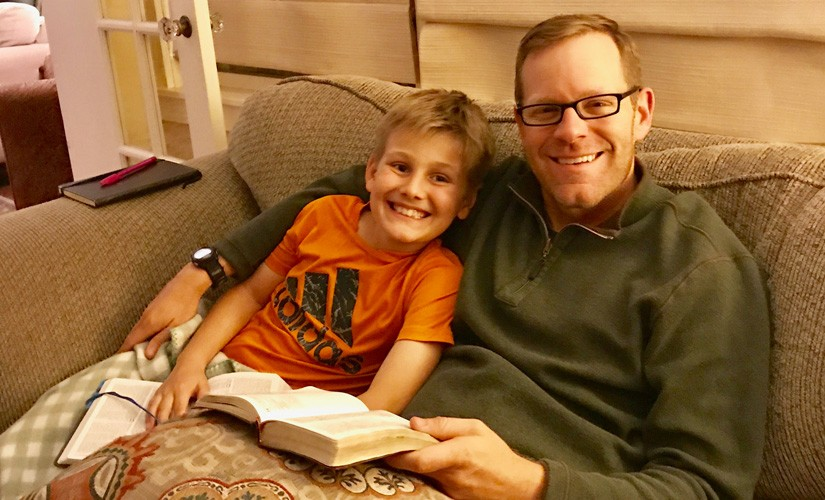 How to Read Through The Bible in a Year with Kids