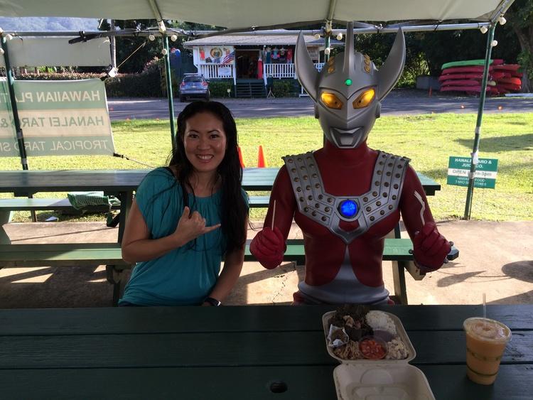 Ultraman &Lyndsey Haraguchi-Nakayama
