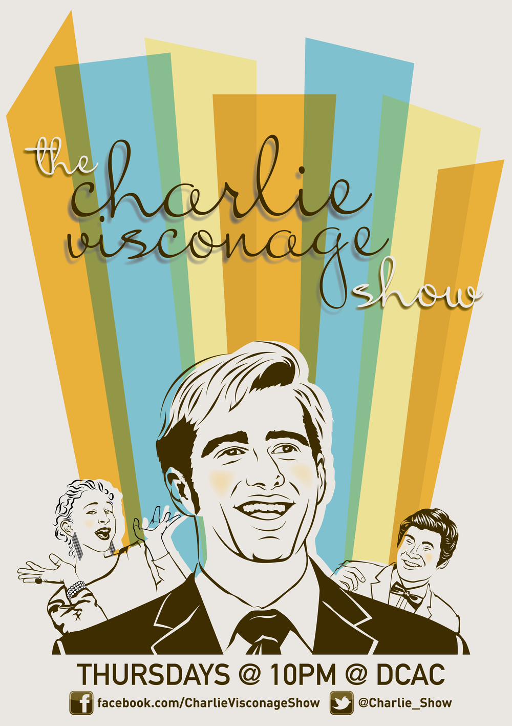 Charlie Visconage Show Posters