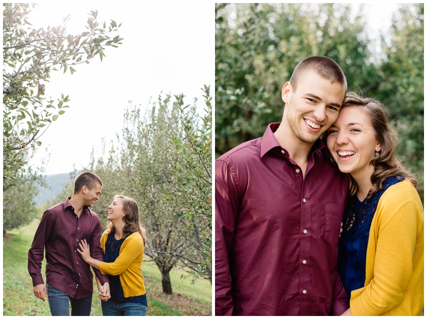Engagement Session at Sky Top Orchard