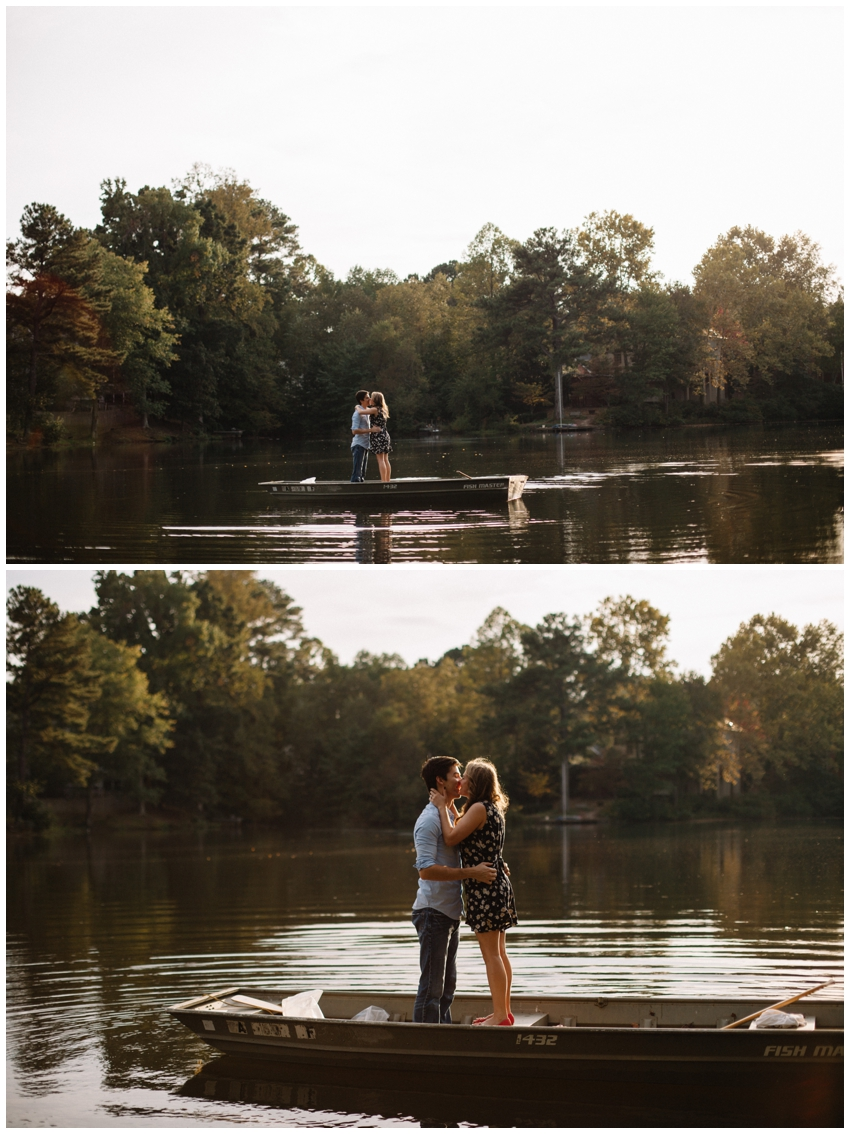Lake Engagement Session in Atlanta, GA