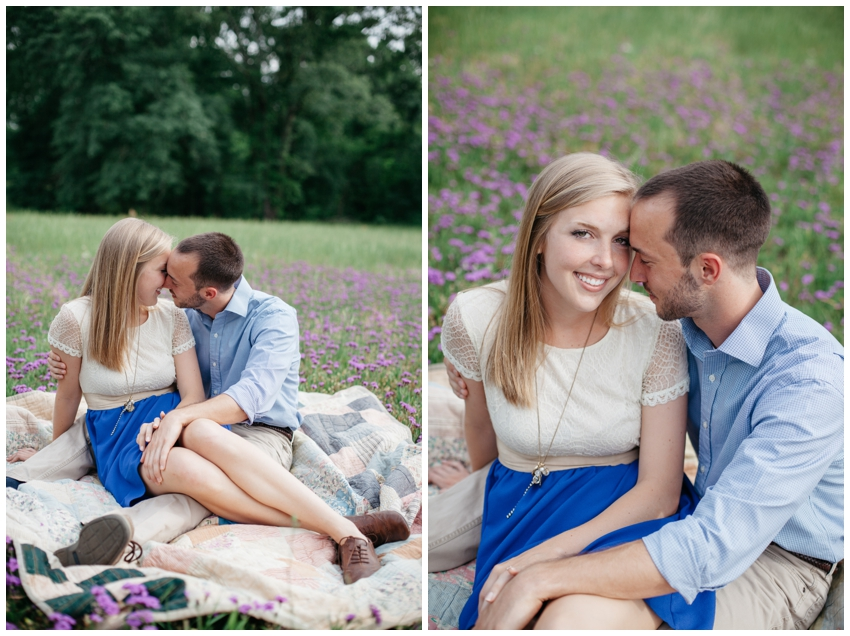 Engagement Session at Specht Farm in Milledgeville, GA
