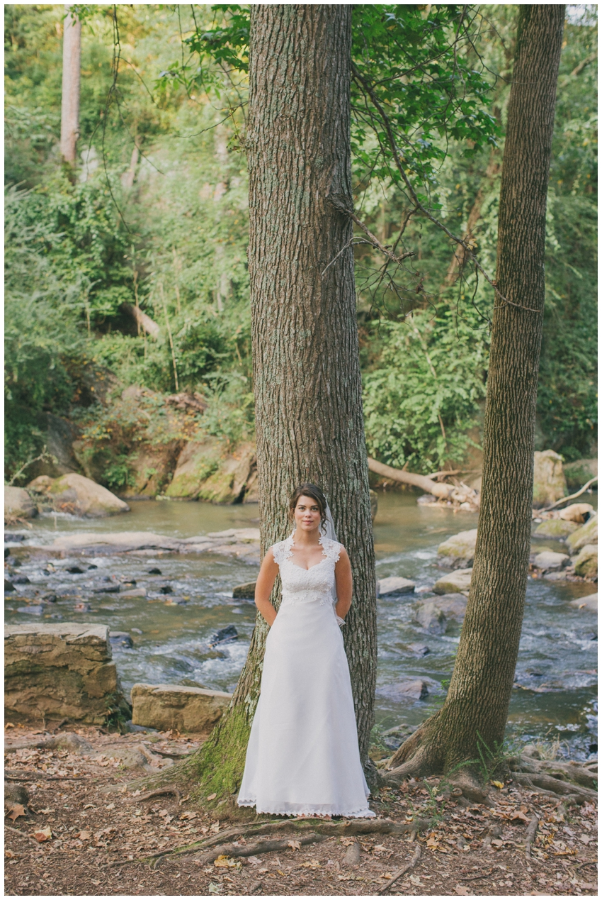 Bridal Session in Falls Park in downtown Greenville, SC