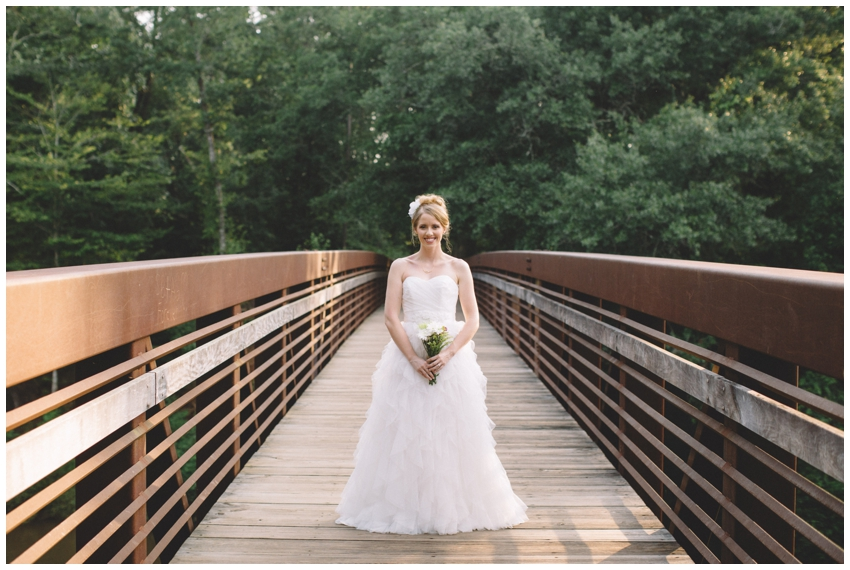 Bridal Session at Lake Conestee Nature Park