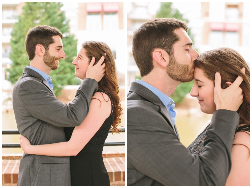 Engagement Session at the Wyche Pavilion in downtown Greenville, SC