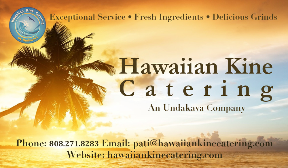 Catering Company Business Card